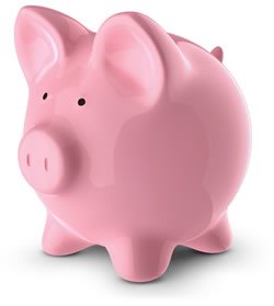 Postgraduate Funding Piggy Bank